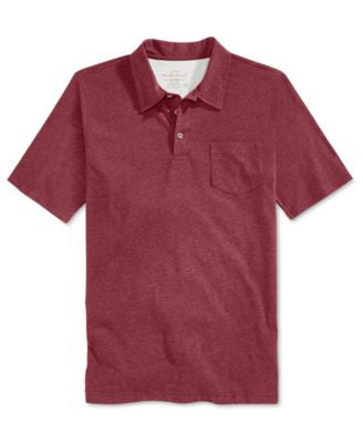 Weatherproof Vintage Men's Big & Tall Short-Sleeve Heather Polo
