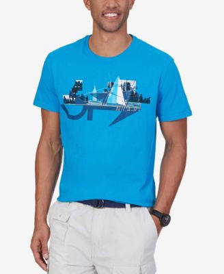 Nautica Men's Yacht In The City Graphic-Print T-Shirt
