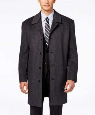 London Fog Coventry Wool-Blend Overcoat