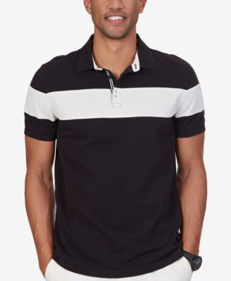 Nautical Men's Slim-Fit Colorblocked Polo
