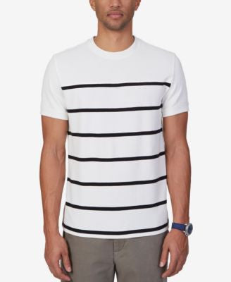 Nautica Men's Slim Fit Stripe T-Shirt