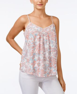 Jessica Simpson Shelby Printed Spaghetti-Strap Top