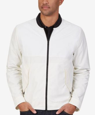 Nautica Men's Pieced Bomber Jacket