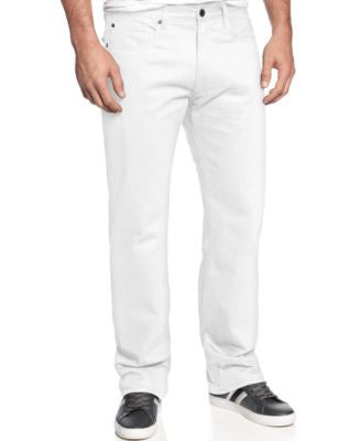 Sean John Men's Hamilton Relaxed Fit Five-Pocket Jeans