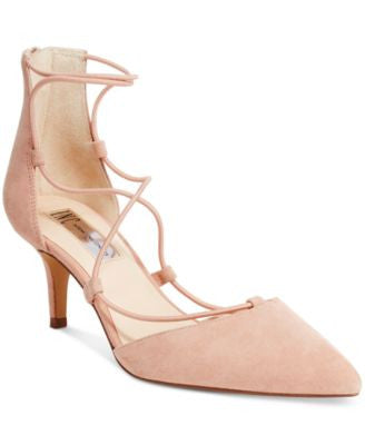 INC International Concepts Daree Lace-Up Pumps, Only at Vogily