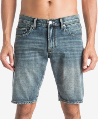 Quiksilver Men's Sequel Vintage Faded Denim Shorts