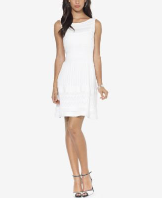 Lauren Ralph Lauren Drop-Waist Crochet Dress
