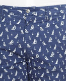Polo Ralph Lauren Men's Big & Tall Classic-Fit Sailboat-Print Poplin Shorts
