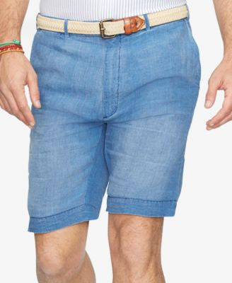 Polo Ralph Lauren Men's Big & Tall Linen Shorts