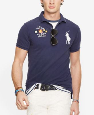 Polo Ralph Lauren Custom-Fit Nautical Polo Shirt