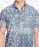 Polo Ralph Lauren Chambray Printed Short-Sleeve Shirt
