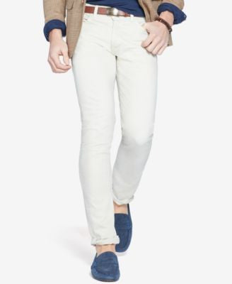 Polo Ralph Lauren Men's Varick Slim-Fit Jacquard Jeans