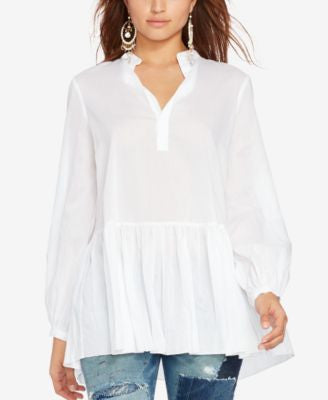 Polo Ralph Lauren Drop-Waist Voile Tunic