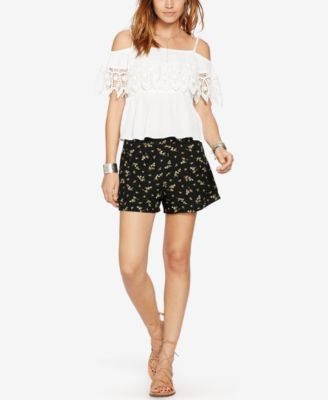 Denim & Supply Ralph Lauren Atlantic Floral-Print Shorts