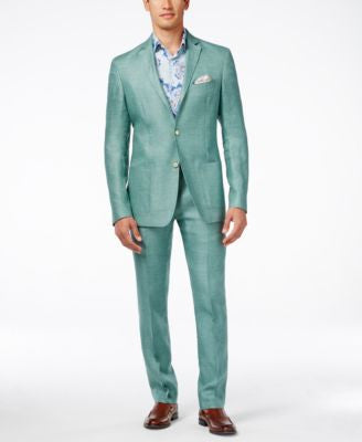 Tallia Slim-Fit Varene Linen Suit Separates