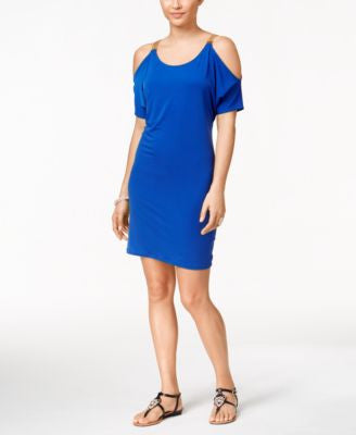Thalia Sodi Cold-Shoulder Sheath Dress, Only at Vogily