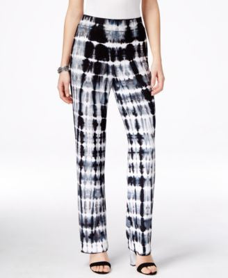 Karen Kane Printed Pull-On Soft Pants, Only at Vogily