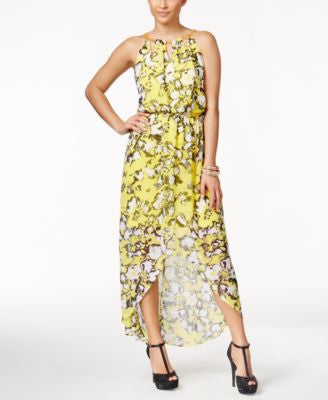 Thalia Sodi Printed High-Low Maxi Dress, Only at Vogily