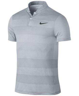 Nike Men's Dri-Fit Jacquard-Print Golf Polo