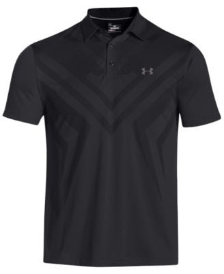 Under Armour Men's Armourvent Tips Golf Polo