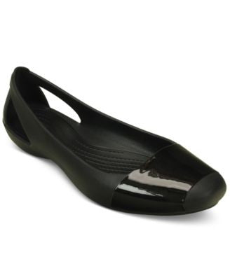 Crocs Women's Sienna Shiny Flats