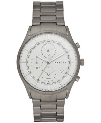 Skagen Men's Chronograph Holst Titanium Bracelet Watch 40mm SKW6286