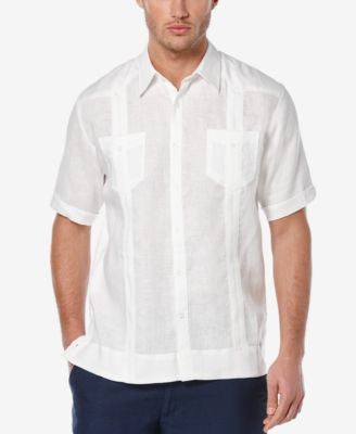 Cubavera Men's Linen Short-Sleeve Shirt