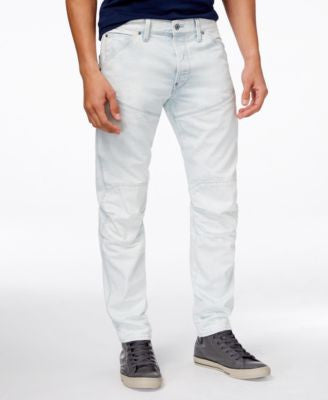 GStar Men's 5620 Tapered-Fit Light Aged Jeans