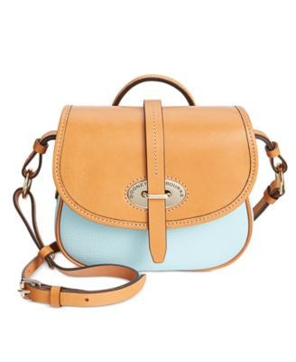 Dooney & Bourke Verona Bionda Cristina Saddle Bag Crossbody