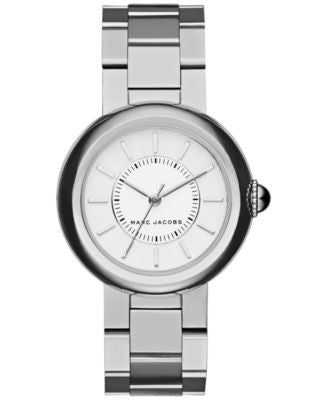 Marc Jacobs Women's Courtney Stainless Steel Bracelet Watch 34mm MJ3464