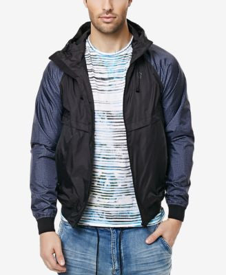 Buffalo David Bitton Men's Jesse Lightweight Colorblocked Jacket