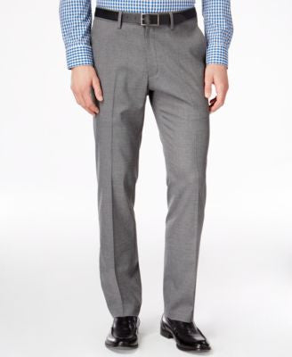 Kenneth Cole Reaction Men's Slim-Fit Stretch Dress Pants, Only at Vogily