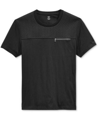 INC International Concepts Men's Hot Quilted Pocket T-Shirt, Only at Vogily