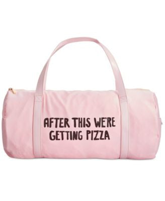 ban.do After This We're Getting Pizza Gym Bag