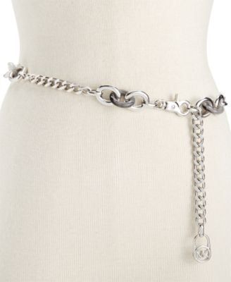 MICHAEL Michael Kors Tortoise-Look Chain Belt