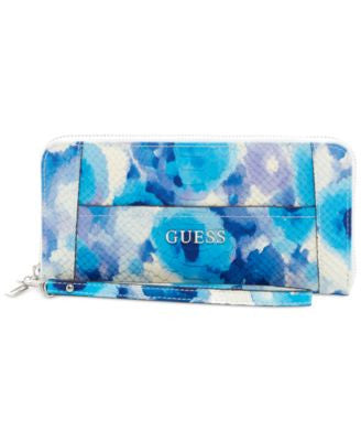 GUESS Delaney Large Zip Around Wallet