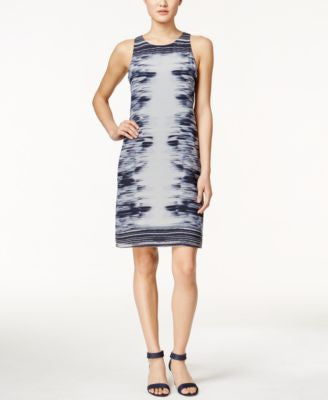 Alfani Printed Shift Dress, Only at Vogily
