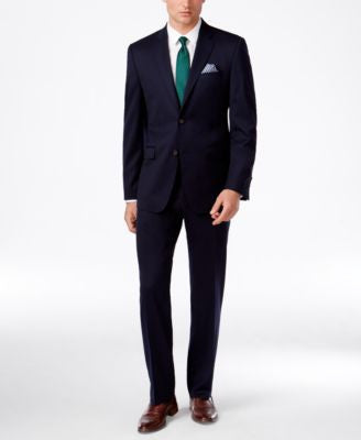 Lauren Ralph Lauren Men's Slim-Fit Navy Blue Suit