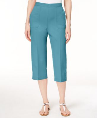 Alfred Dunner Pull-On Capri Pants