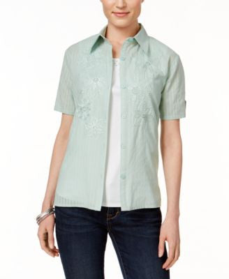 Alfred Dunner Layered-Look Shirt