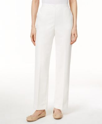 Alfred Dunner Straight-Leg Pull-On Pants