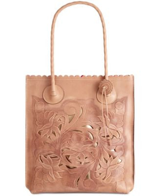 Patricia Nash Tooled Cavo North South Tote