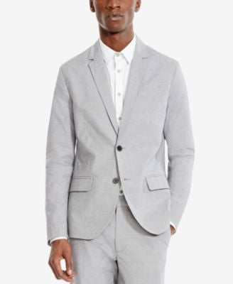 Kenneth Cole Reaction Men's Core Gray Suit Jacket