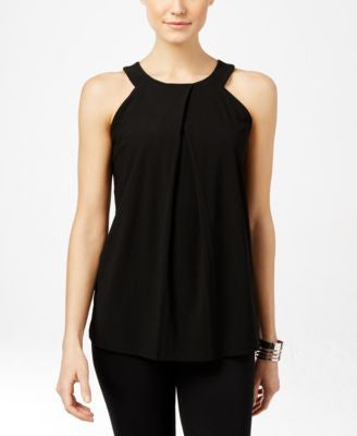 INC International Concepts Pleated Halter Top, Only at Vogily