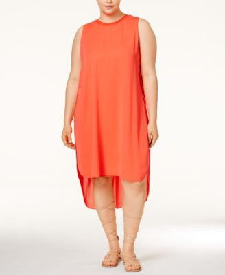 RACHEL Rachel Roy Curvy Plus Size Petra High-Low Dress