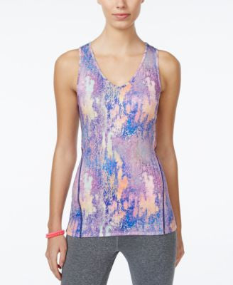 Jessica Simpson The Warm Up Juniors' Cutout Compression Tank Top, Only at Vogily