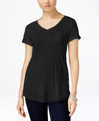 Style & Co. V-Neck Tee