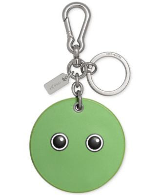 COACH Googly Emoji Bag Charm