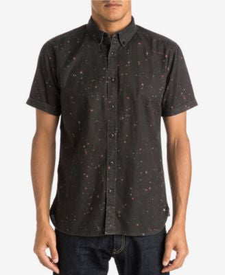 Quiksilver Men's Ghetto Lights Button-Front Shirt