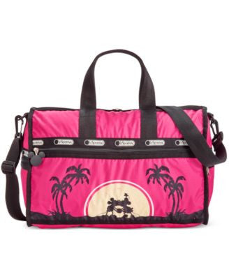 LeSportsac Mickey & Minnie Collection Medium Weekender Bag